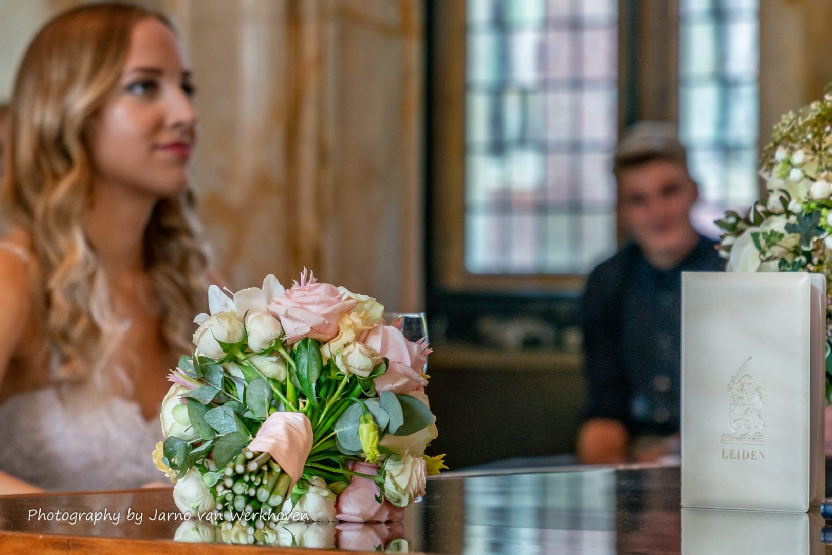 The ceremony situated in Leiden, City Hall. :)