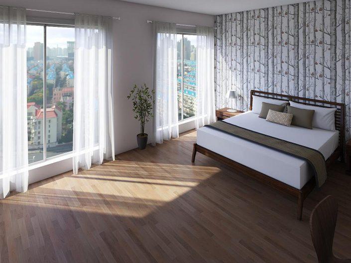 3D Manhattan Bedroom