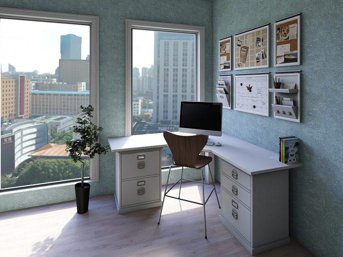 3D Render Shanghai Office