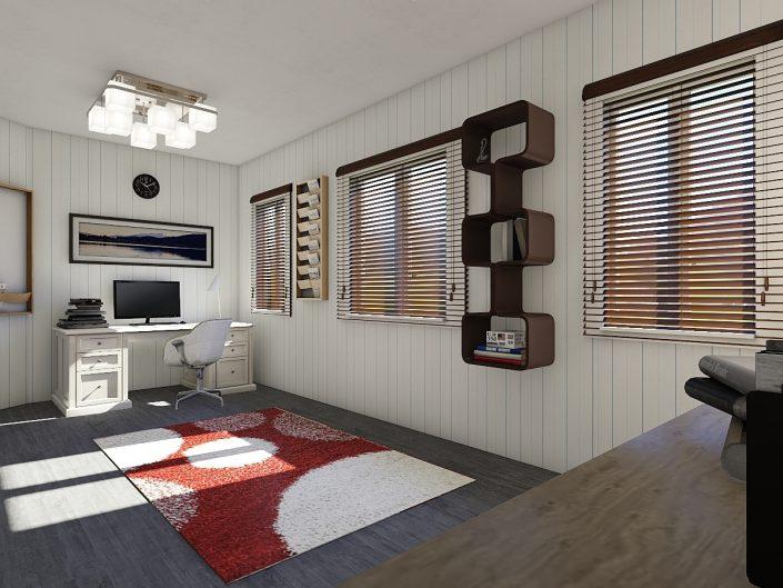 3D Render Van Alcmaerlaan 28, Hoogmade