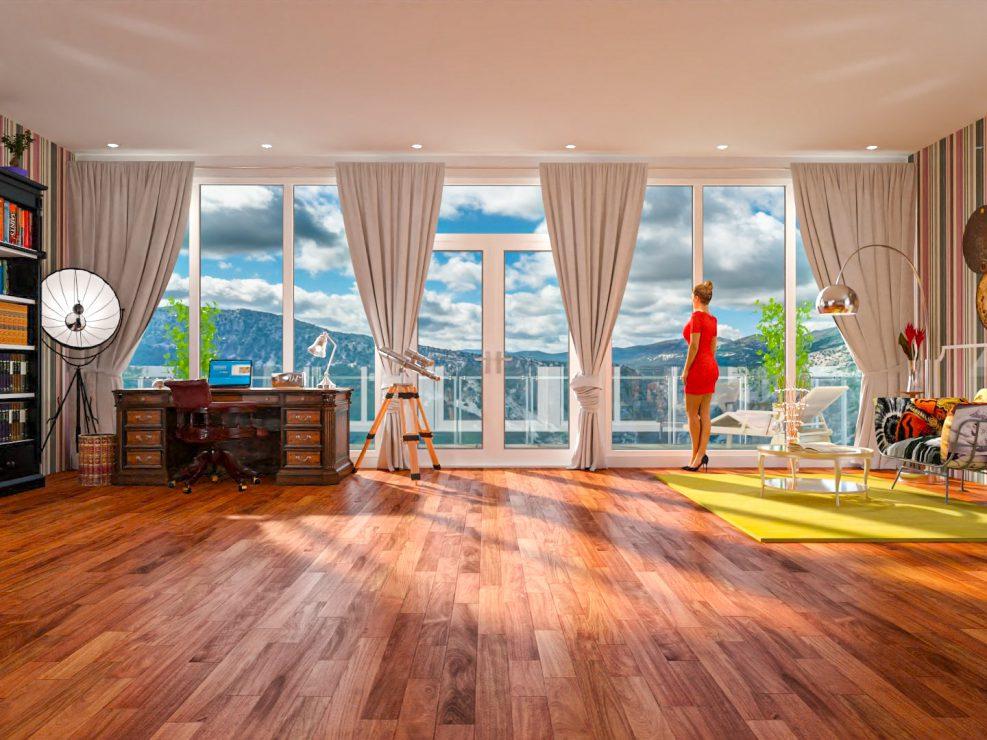 Sardina apartment, artist impression